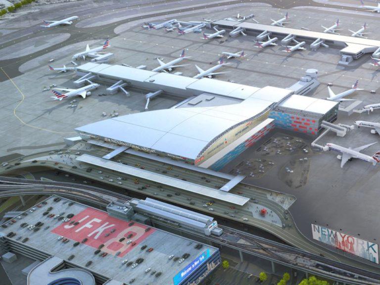 Ampliación de la Terminal 8 del aeropuerto JFK