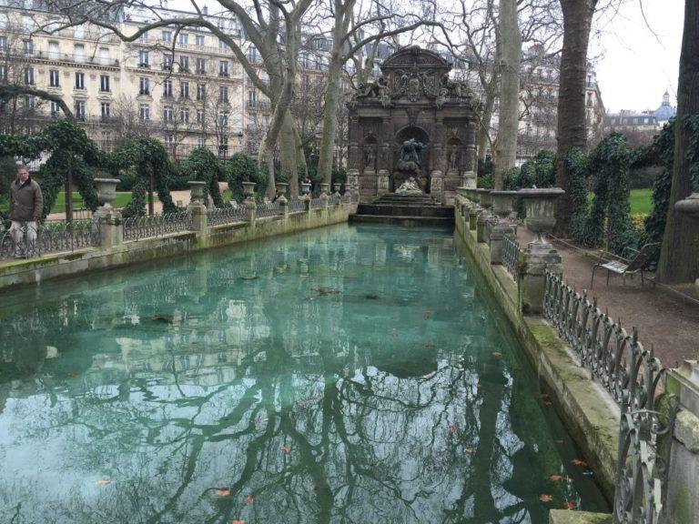 Jardines de Luxemburgo, en París