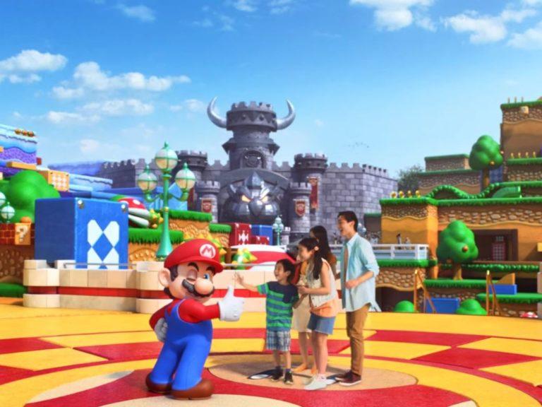 Cómo será el parque temático de Nintendo en Japón