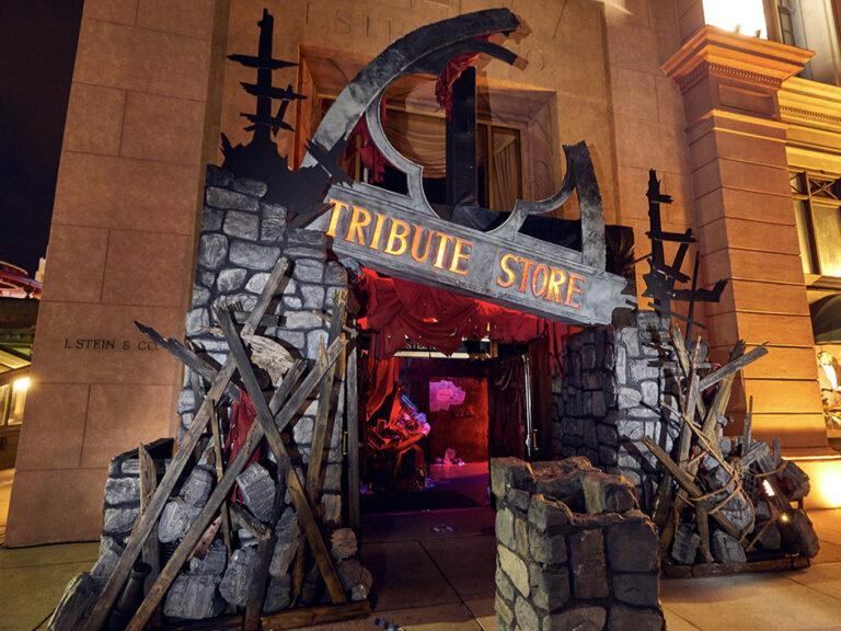 Nueva tienda tributo de Halloween Horror Nights en Universal