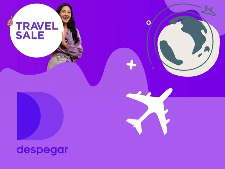 Despegar presenta sus promociones especiales para el Travel Sale